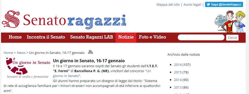 senatoragazzi